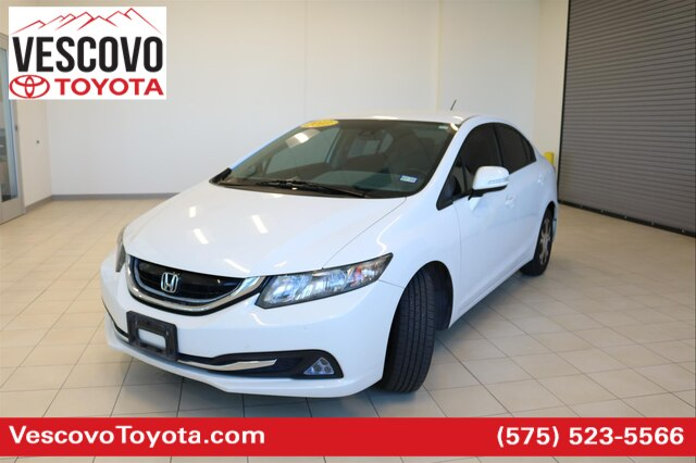 Pre-Owned 2013 Honda Civic Hybrid Base
