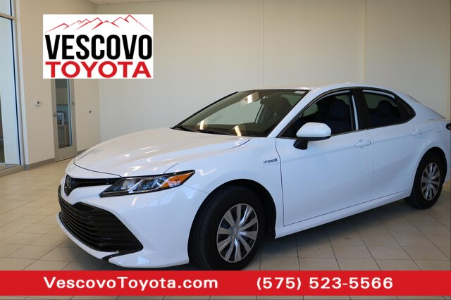 Pre-Owned 2020 Toyota Camry Hybrid LE