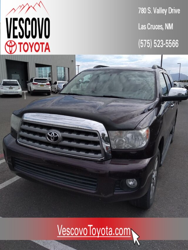 Pre-Owned 2013 Toyota Sequoia Limited 5.7L V8