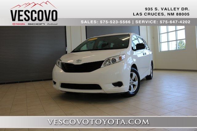 Toyota In Las Cruces >> Pre Owned 2017 Toyota Sienna L 7 Passenger Minivan In Las Cruces