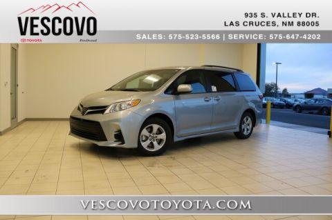 New Toyota Sienna In Las Cruces Vescovo Toyota Of Las Cruces